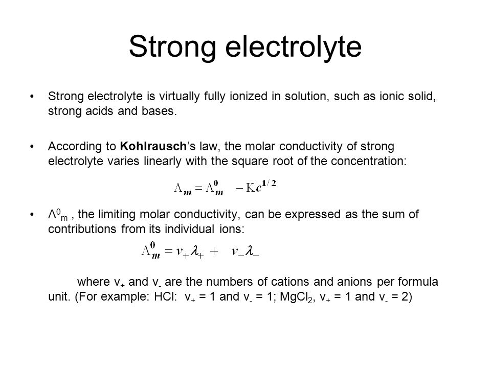Conductivity Of Electrolyte : Chapter molecular motion in liquids ppt video online