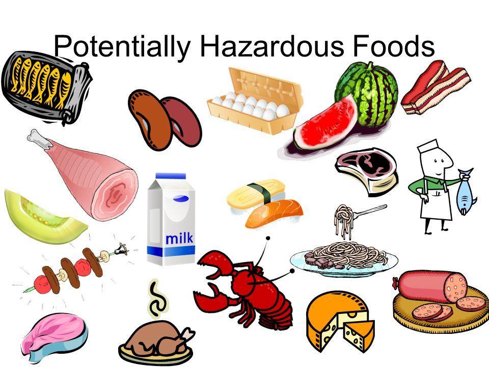 Ready To Eat Potentially Hazardous Foods