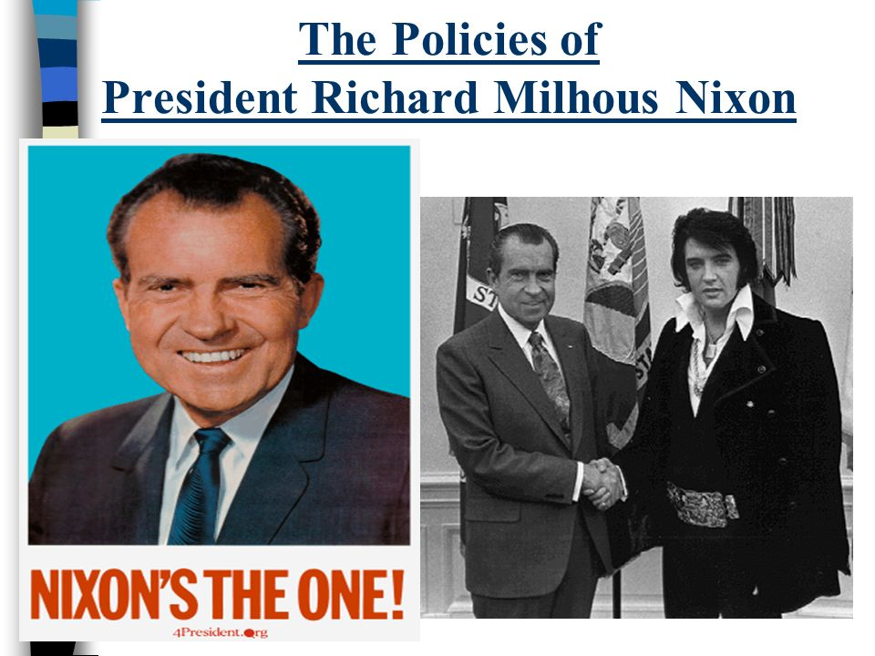 an overview of the political career of richard nixon A timeline of major events of the nixon and political events that occurred during this time early life and career january 9, 1913 richard nixon is born.