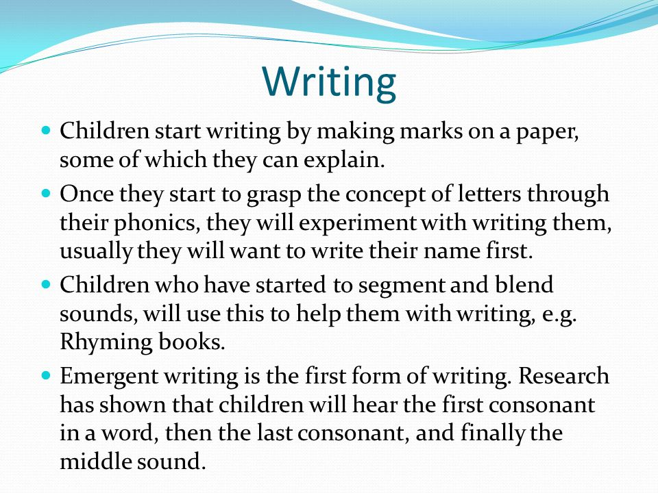 how to help your child with writing at home