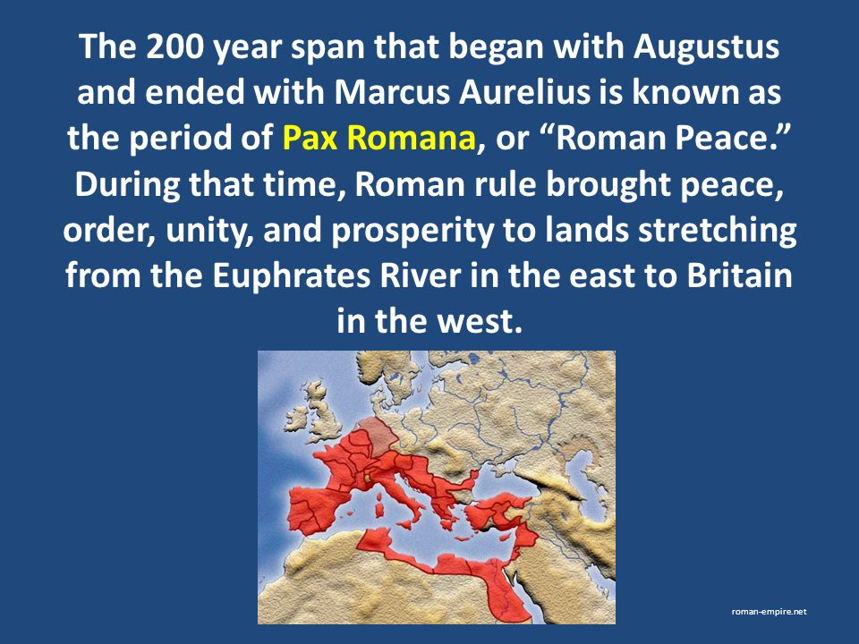 ancient rome development pax romana - photo#14