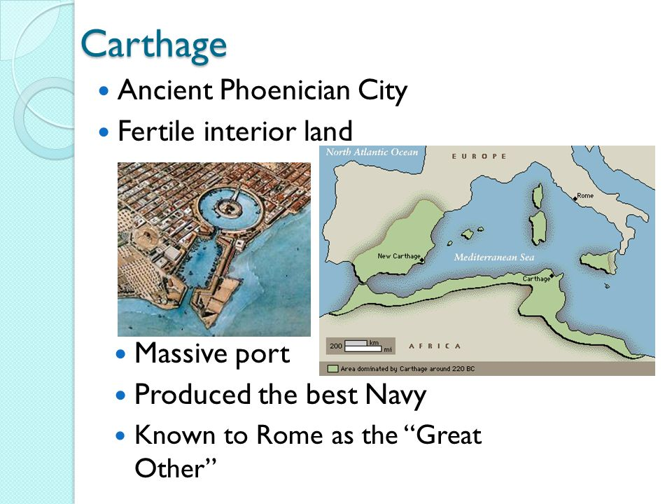 an overview of the carthage port city Bari was a fairly major port city on the lower part of the italian boot, and the main lifeline of the exarchate of italy to the rest of the eastern empire after the .