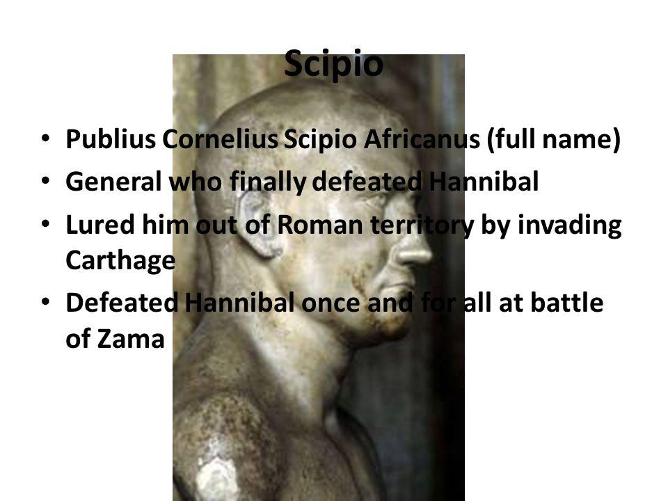 publius cornelius scipio
