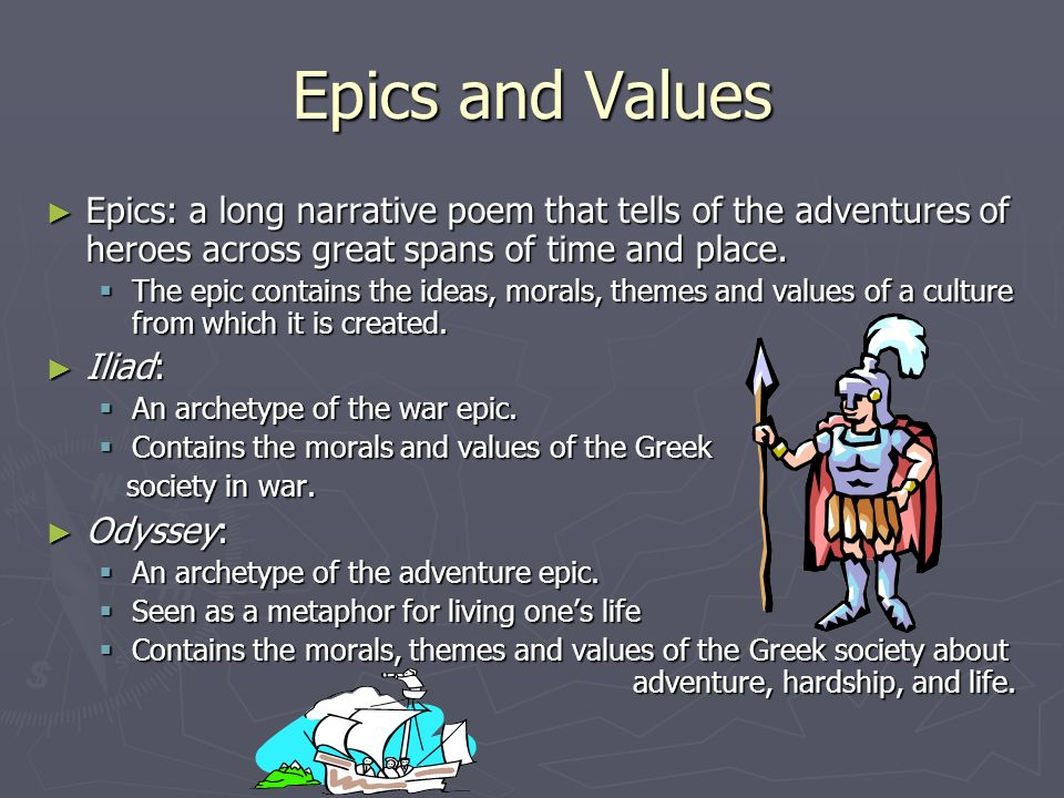culture and society of the odyssey Get an answer for 'what are examples of greek values shown in homer's epic, the odyssey, and where are they found in the text' and find homework help for other the.
