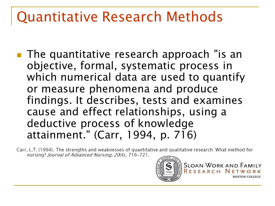 strengths and weaknesses of qualitative and quantitative methods