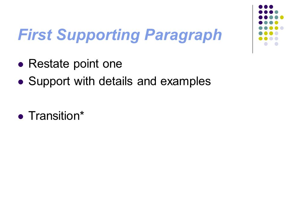 organize the supporting points in your essay Essay structure refers to organization it refers to how you organize and support the ideas expressed within your essay what are the three essential parts of an essay introduction : one - few paragraphs at the beginning of the essay (the length should be in proportion to the essay as a whole.