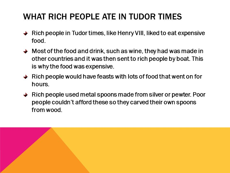 Tudor food rocks by lily pickworth ppt video online for Tudor menu template
