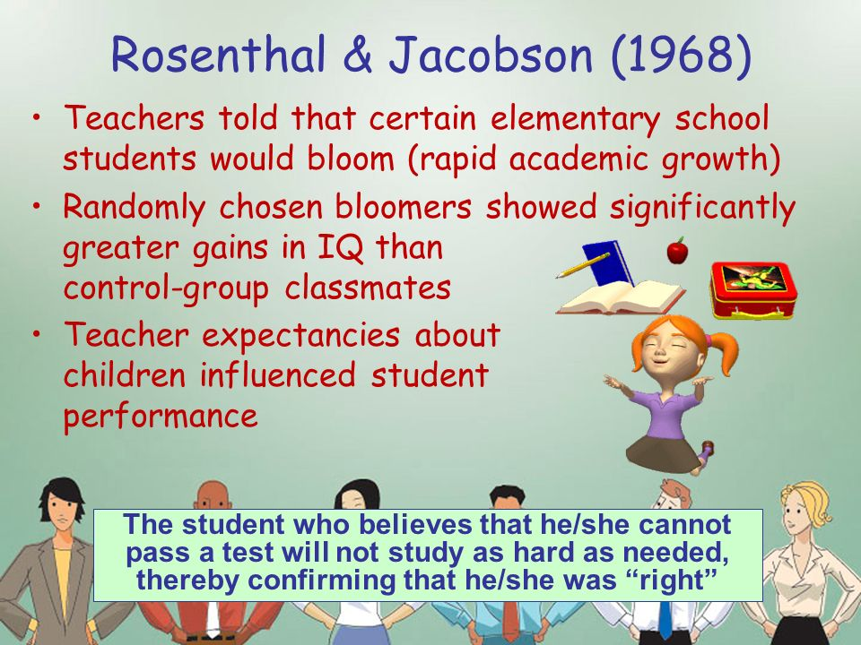 THE ROSENTHAL EXPERIMENT - Google Sites