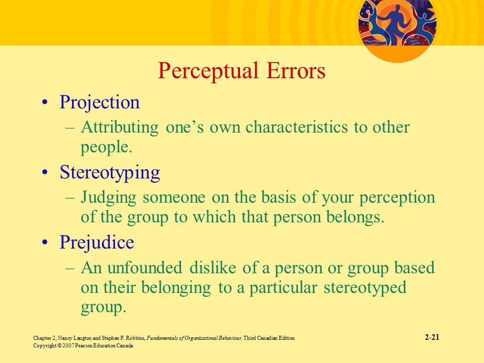 what are the major perceptual errors Performance appraisal errors impede the ability of a manager to critique and motivate an employee for better performance.