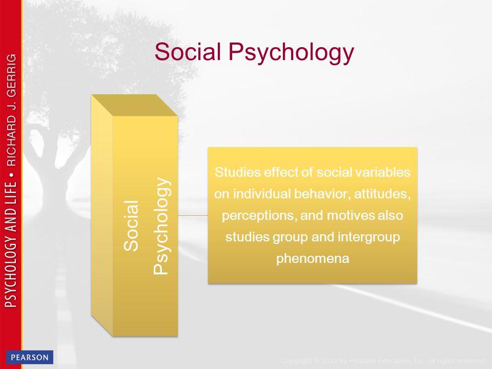 attitudes in social psychology pdf