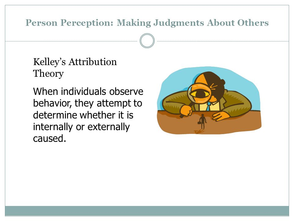 Perception and Attribution - ppt video online download