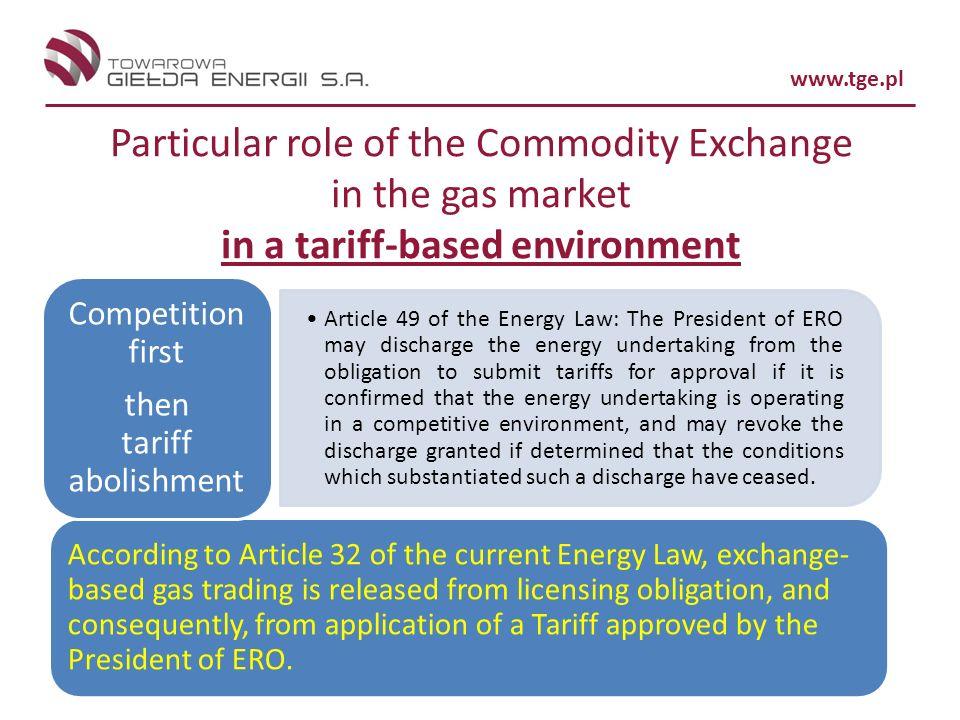 then tariff abolishment