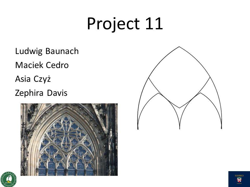 Project 11 Ludwig Baunach Maciek Cedro Asia Czyż Zephira Davis