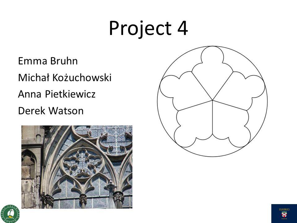 Project 4 Emma Bruhn Michał Kożuchowski Anna Pietkiewicz Derek Watson