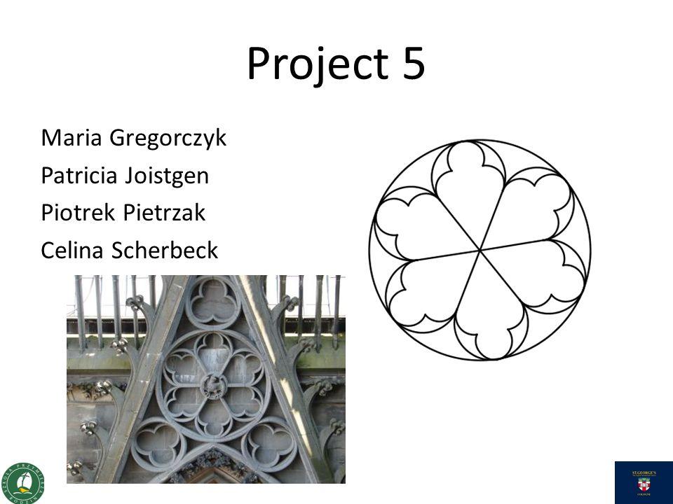 Project 5 Maria Gregorczyk Patricia Joistgen Piotrek Pietrzak Celina Scherbeck