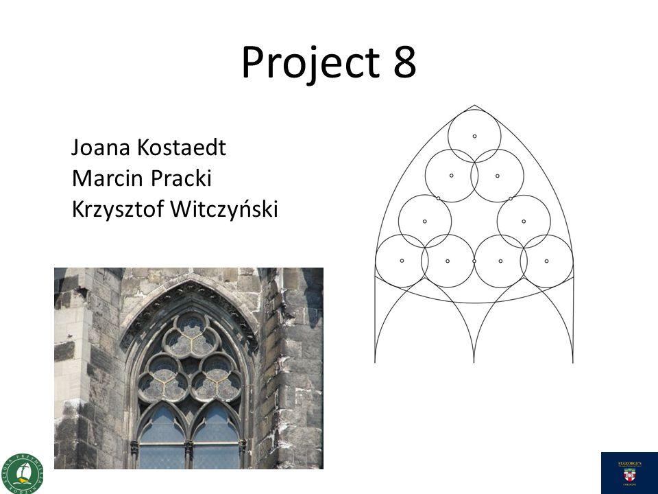 Project 8 Joana Kostaedt Marcin Pracki Krzysztof Witczyński