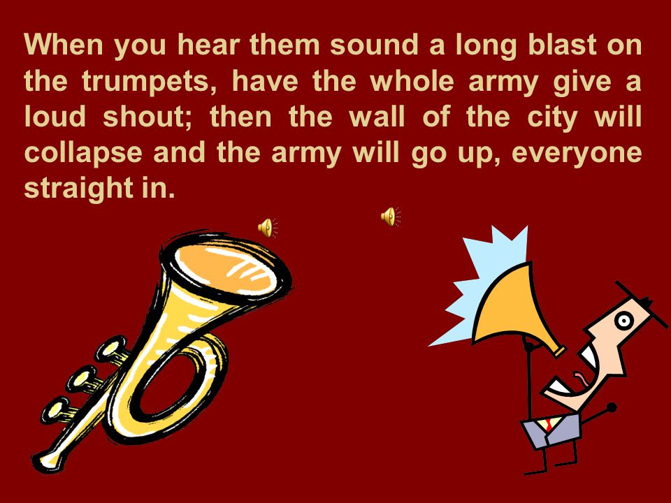 Go sound the trumpet synopsis