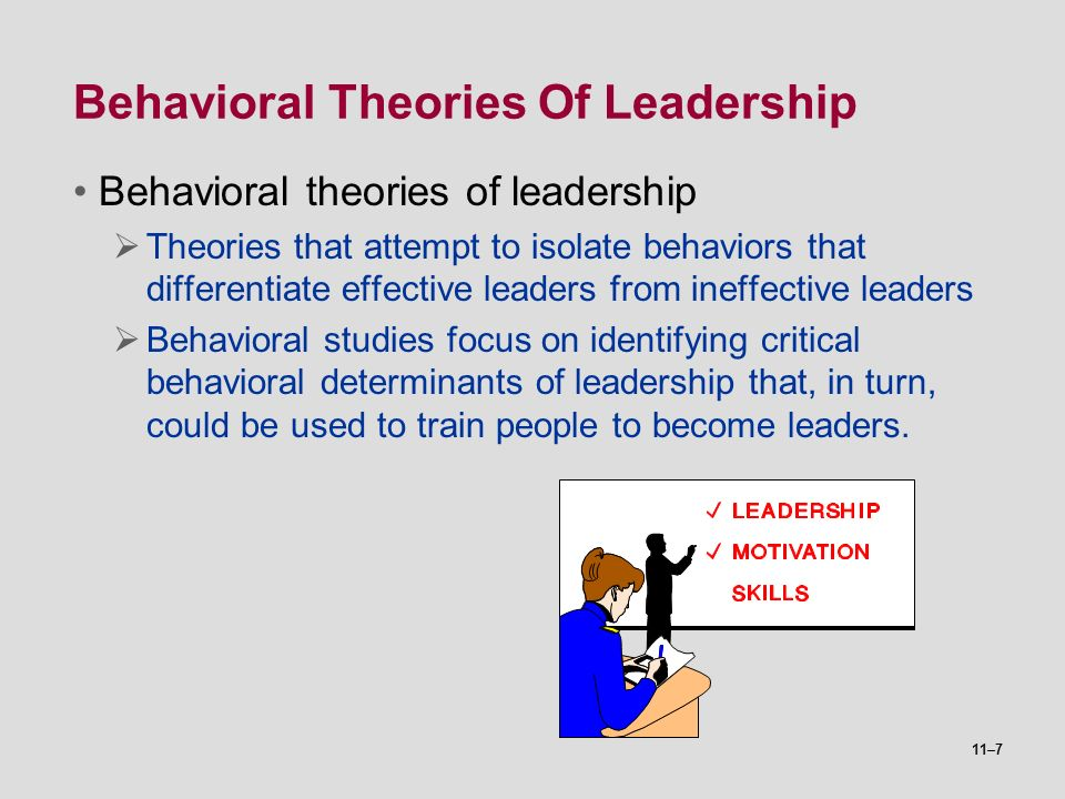 determinants of effective leadership The importance of good leadership effective leadership is essential to a functioning developmental and genetic determinants of leadership role occupancy among.