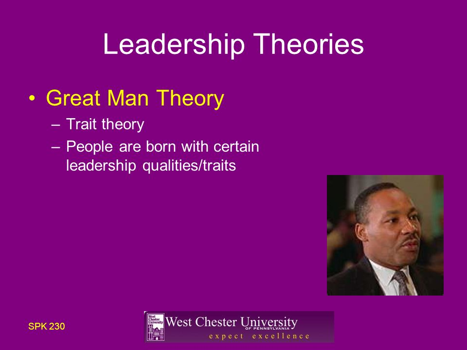 great man theory of leadership pdf