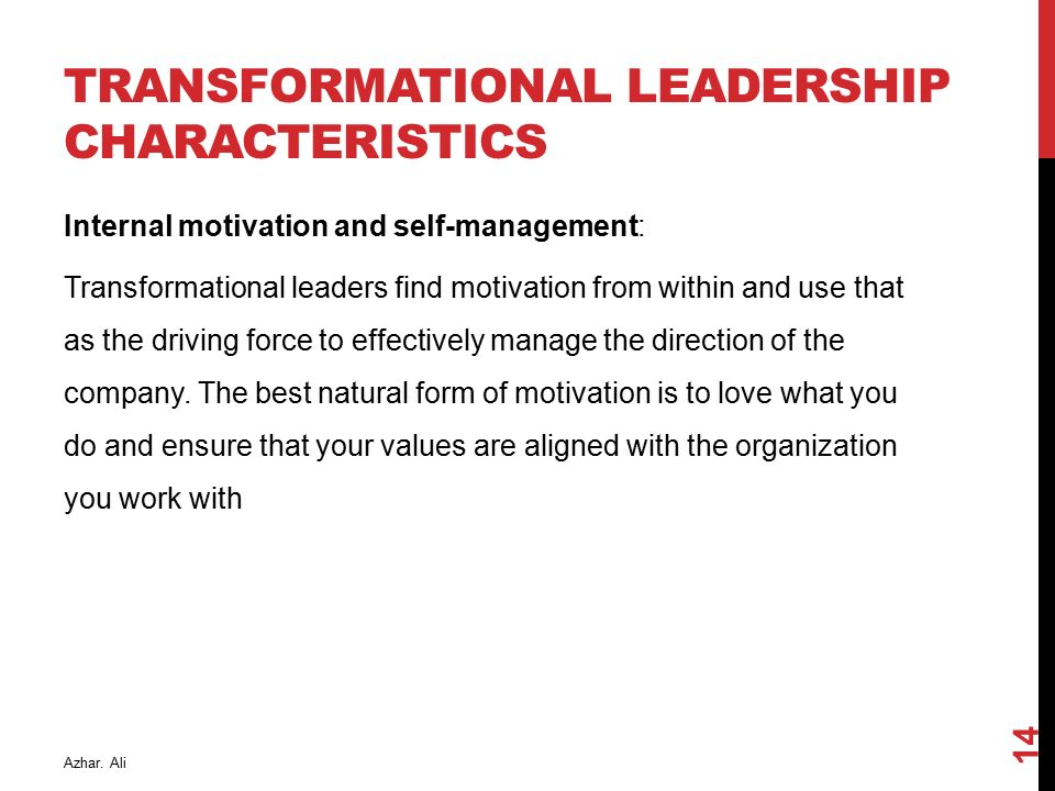 characteristics of a transformational leader management essay Would you like to know what makes a leader  management careers job search  of the employees round out the qualities and characteristics of an inspirational leader.