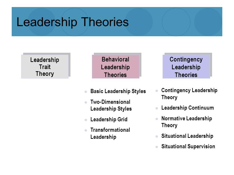 leadership theory