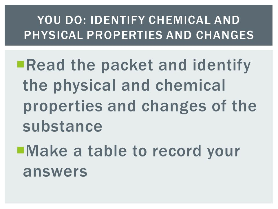 Physical and Chemical Properties and Changes - ppt video online ...