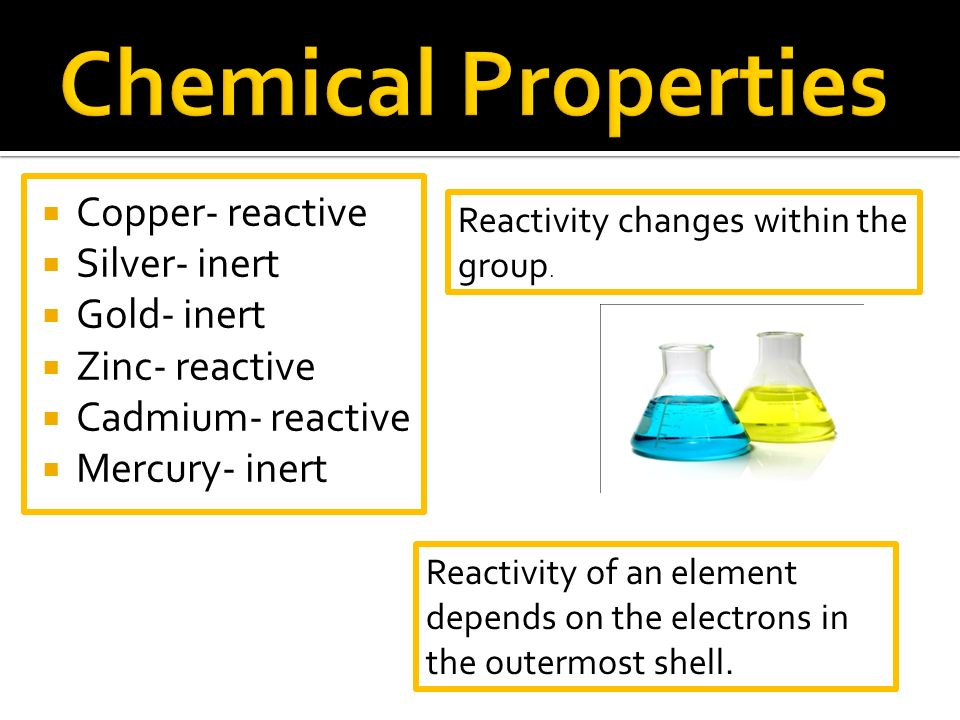 presentation on the chemical element mercury