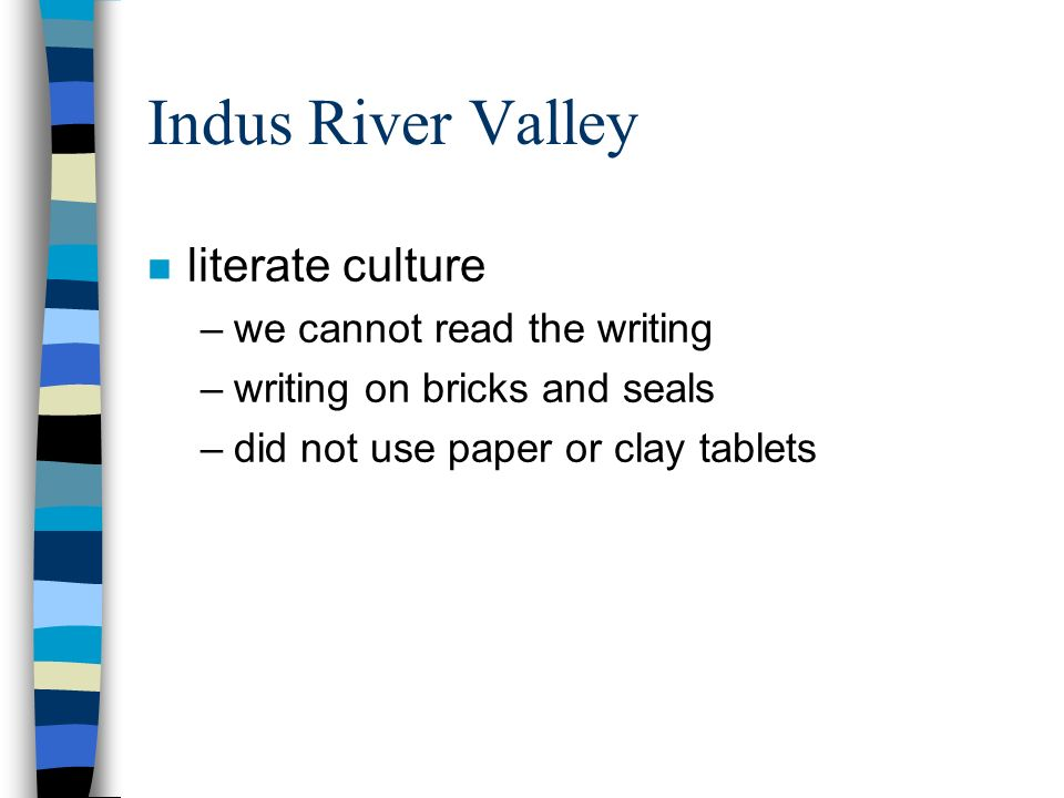 Indus Valley Civilization B.C. - ppt video online download
