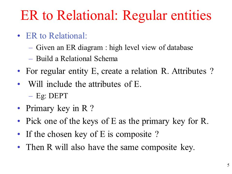 How to build er diagrams ppt video online download 5 er ccuart Images