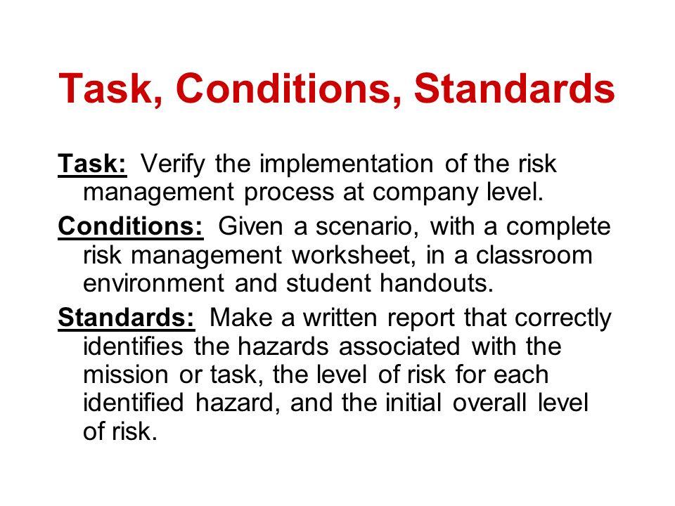 Risk Benefit Risk Management SSG MACK ppt download – Risk Management Worksheet