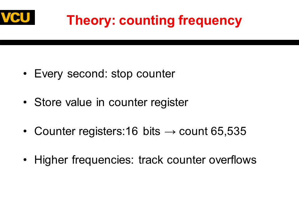 Frequency Counter Theory : Frequency counter using silicon labs c f