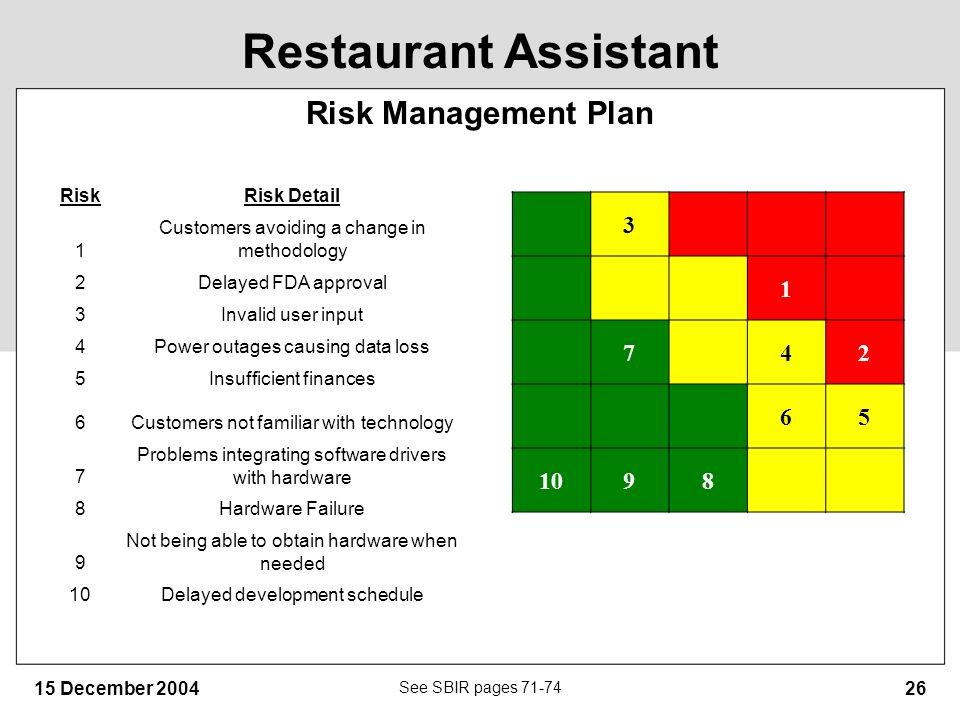 risk management plan layout | novaondafm.tk