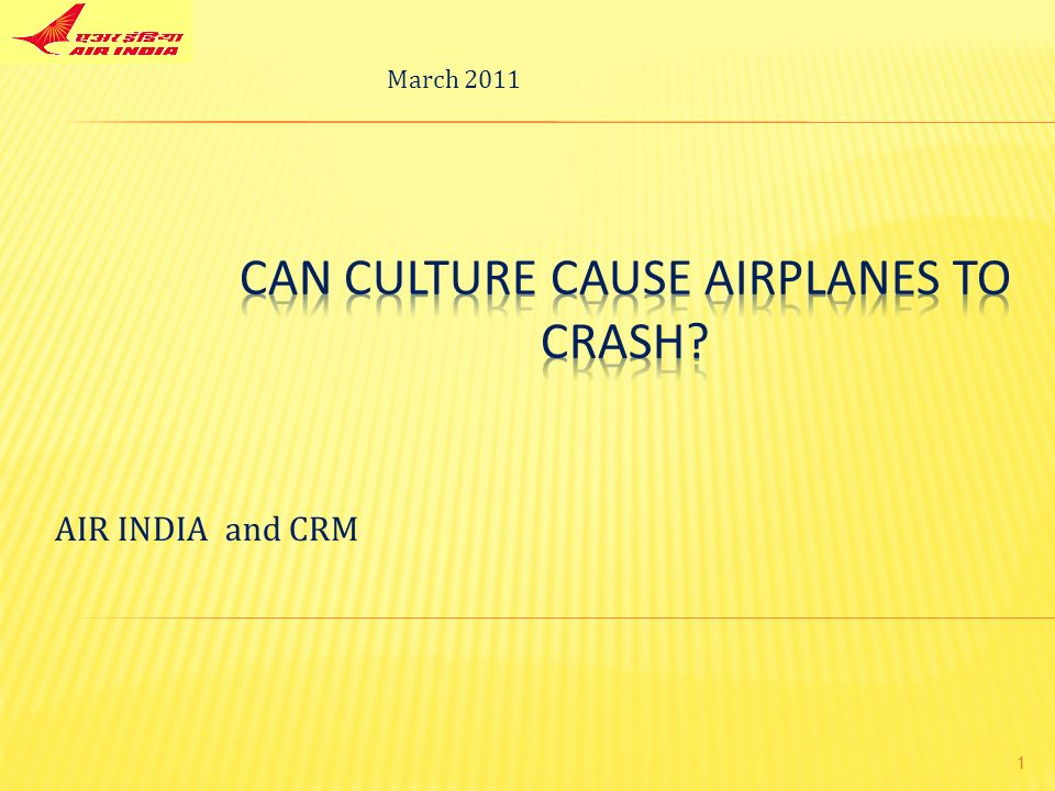 crm air india essay Structure of a case study essay  the crash of air india express flight ix-812 at  mangalore in india  imperative that crm training include both classroom and.