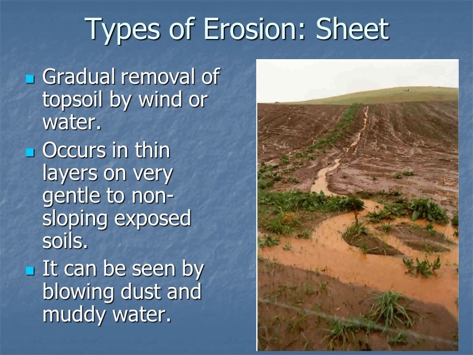 Residual transported soils erosion and erosion history for Soil erosion in hindi