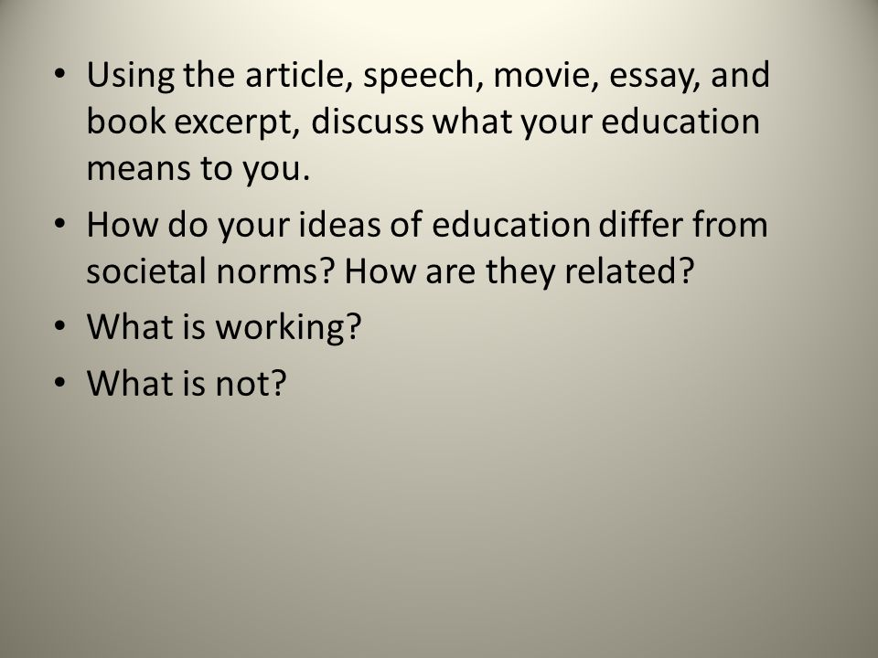 importance of education essay conclusion The importance of college education wednesday conclusion and future the difference between our adult's and student's survey is very note worthy.