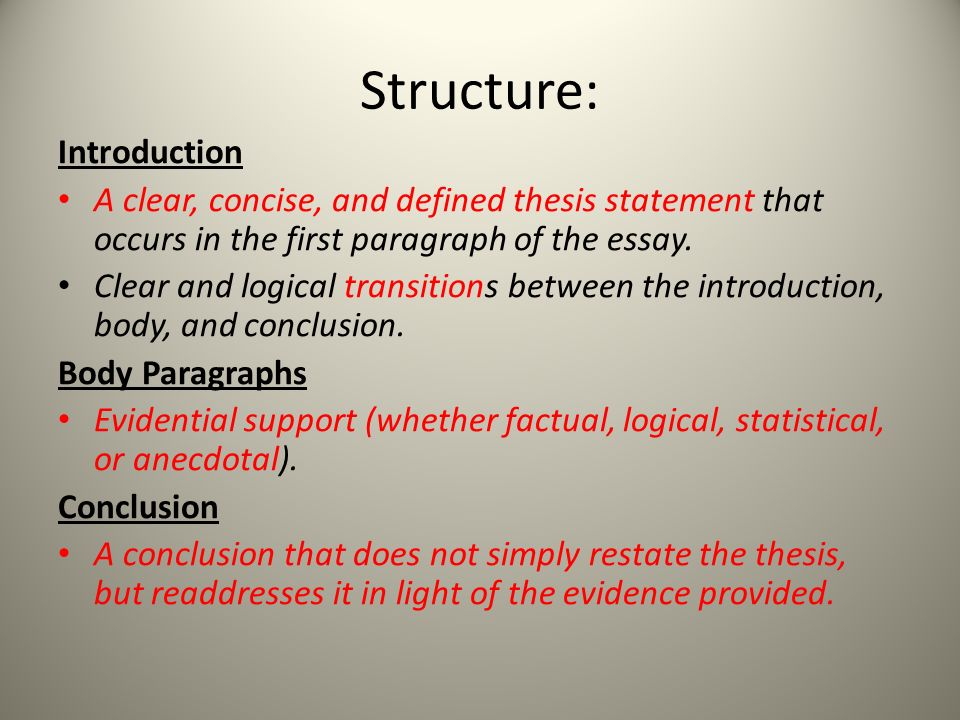 essay on education ppt video online  4 structure introduction