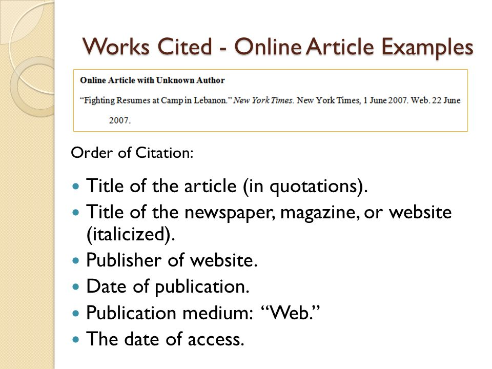 apa format works cited website Citefast is a free apa, mla and chicago citation generator format document references must match the corresponding information in the list of works cited.