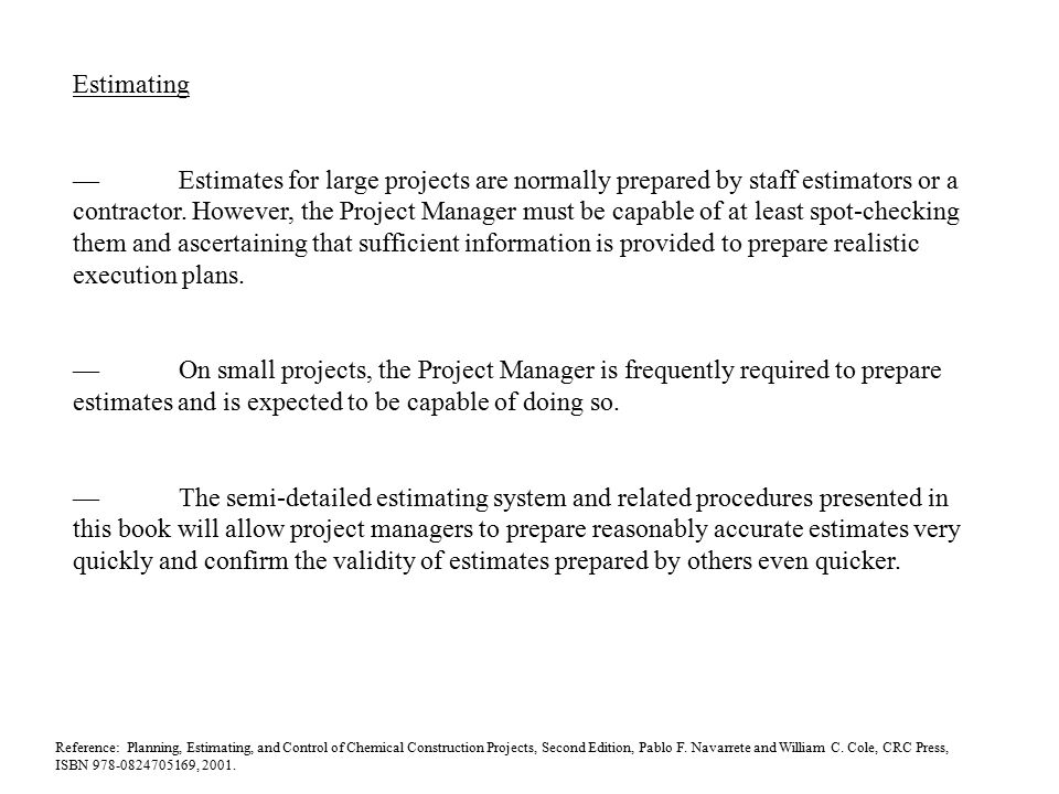 an article reference on project planning and execution Thinking about projects and project execution (work breakdown structure) scope into small and easier pieces for project estimation, planning and execution.