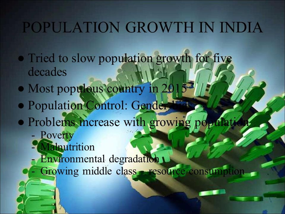 population growth and environmental degradation in For kahl, environmental and demographic stress is a composite variable encompassing (1) population growth and (2) the degradation, depletion, and/or mal-distribution of renewable resources these renewable resources include for example, arable land, fresh water, forests, and fisheries.