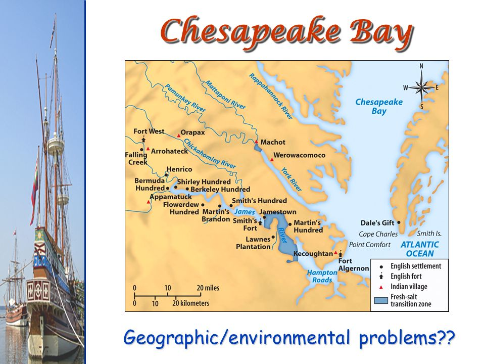 the chesapeake bay colony how it It is important to note that the new england had interests in terms of land use that was basically distinct from chesapeake in terms of chesapeake, the major interest was basically in the large land coverage that included rhode island, plymouth, massachusetts bay colony, new haven and connecticut.