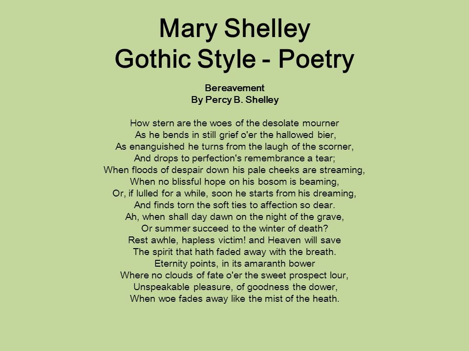 Percy Bysshe Shelley Questions and Answers