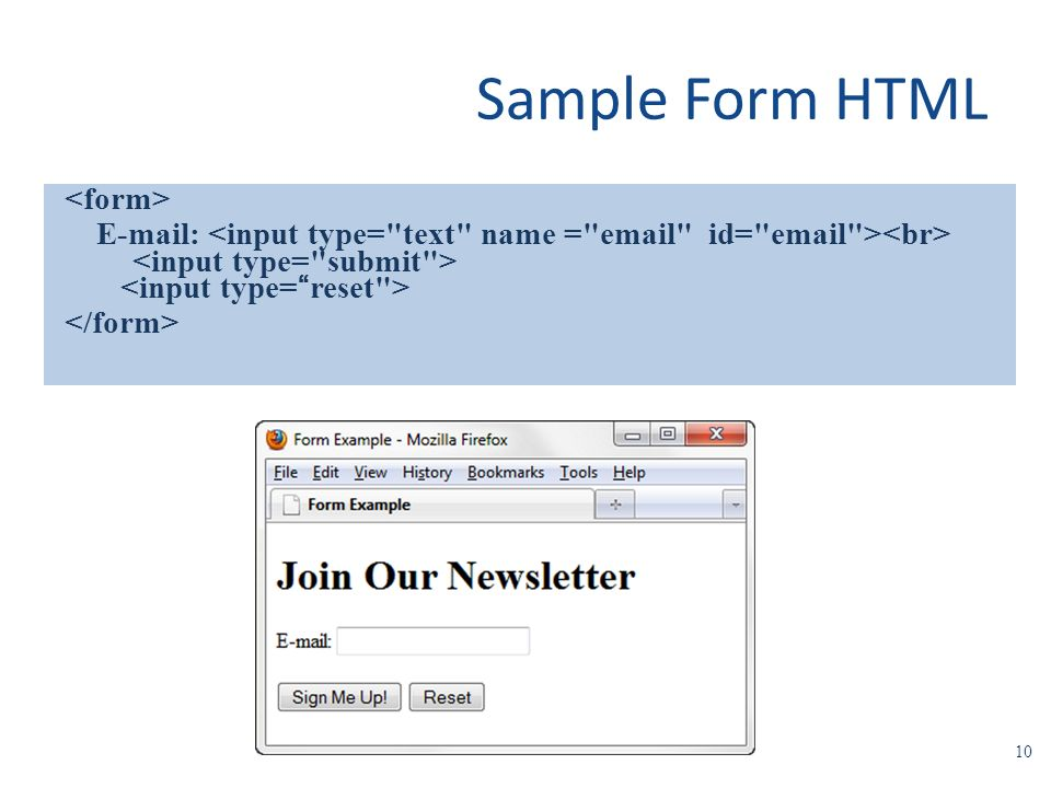 HTML Forms. - ppt video online download