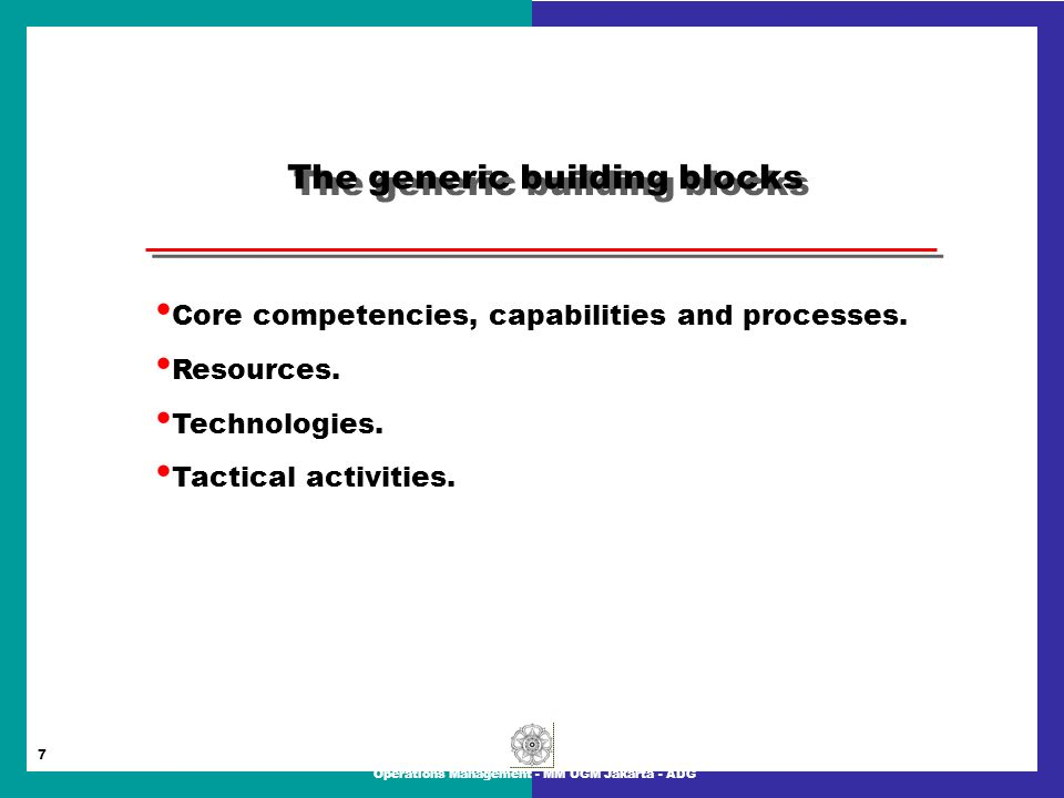building competencies capabilities and resource strengths Building capabilities for performance  popular method for building organizational capabilities  their learning programs to employees' specific strengths and .
