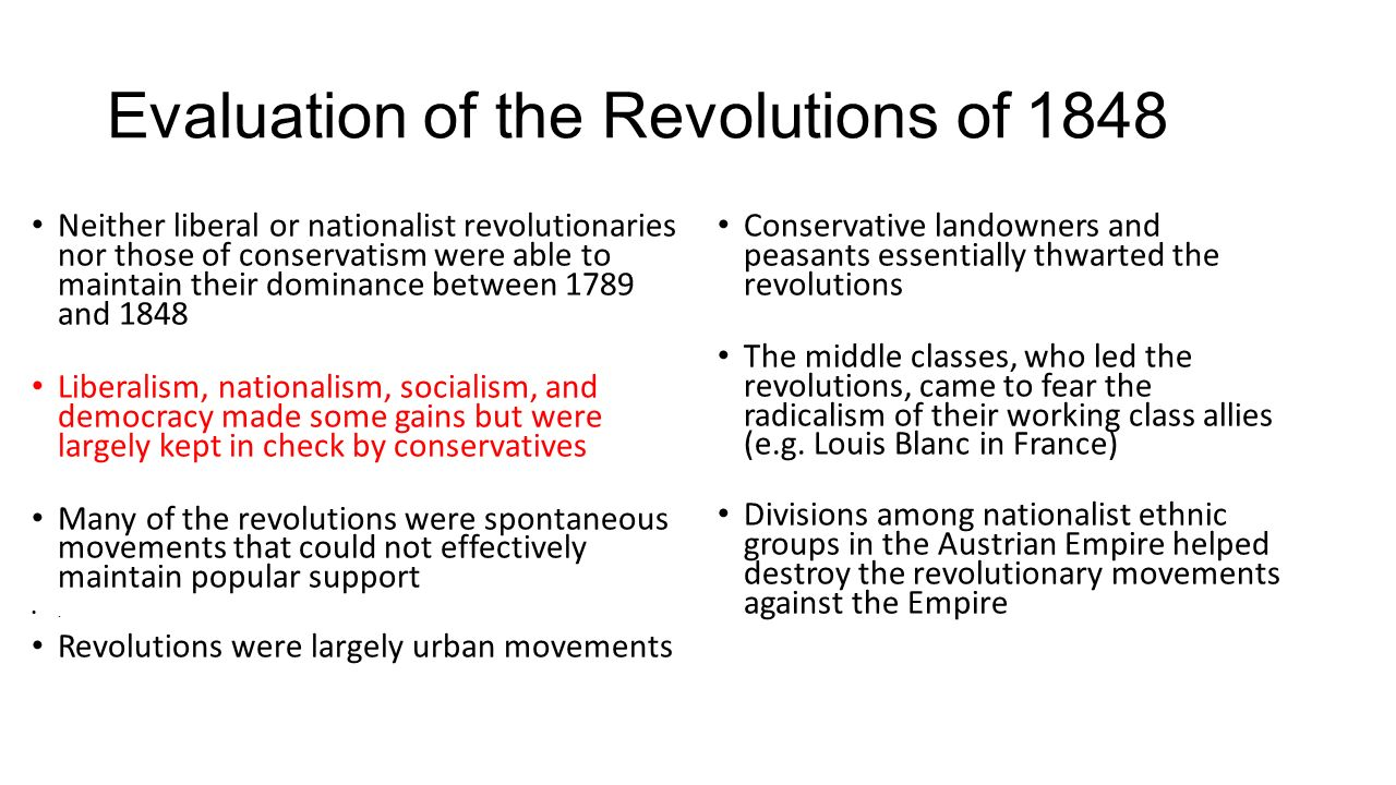 the revolutions of 1848 In this lesson we will learn about the revolutions of 1848 we'll see what led to this series of revolutions, look at some of the common threads of.
