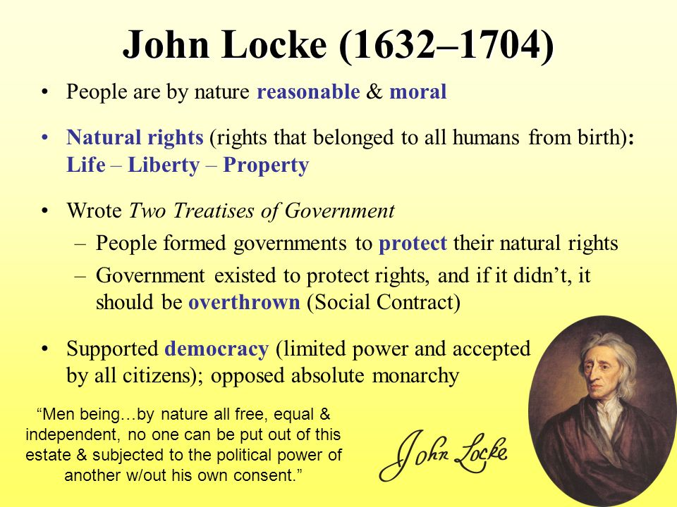 comparing john locke and baron de montesquieu John locke, thomas hobbes and baron de montesquieu were all political  philosophers, each with their own idea to understand what they believed in, you  first.