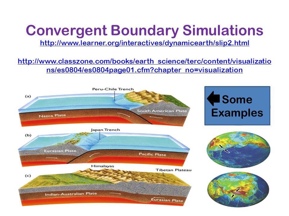Convergent Boundary Simulations   learner