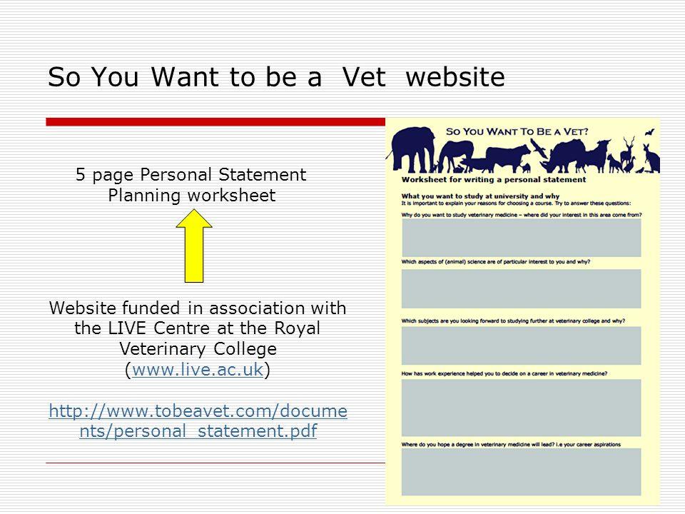 veterinary school personal statement So you've got this personal statement to write  how to write a vmcas personal statement while applying to veterinary school.