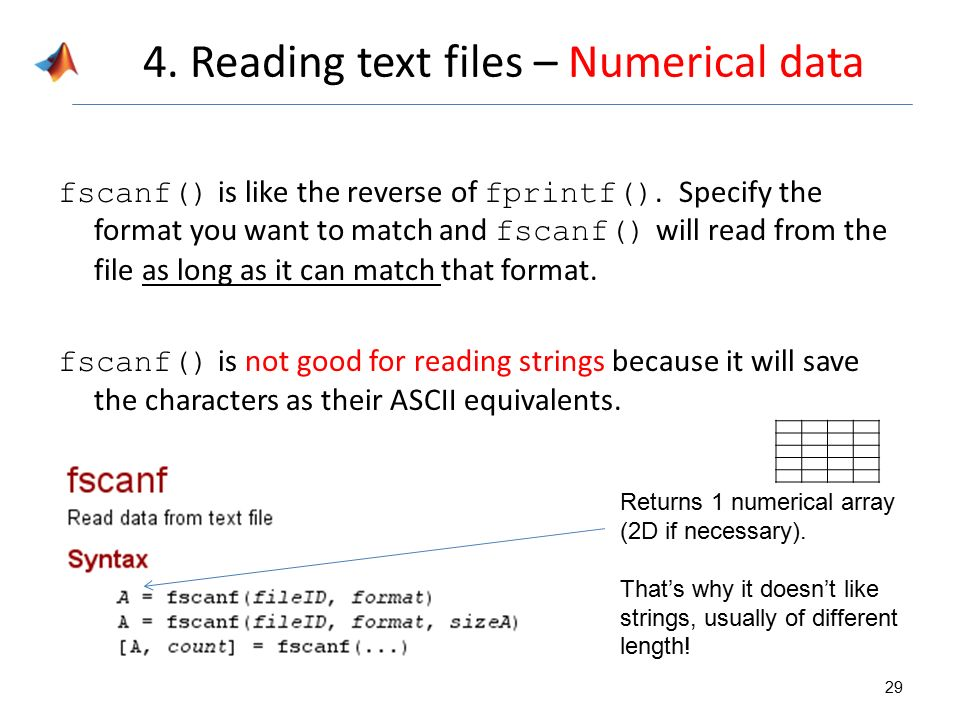 how to read second line with fscanf