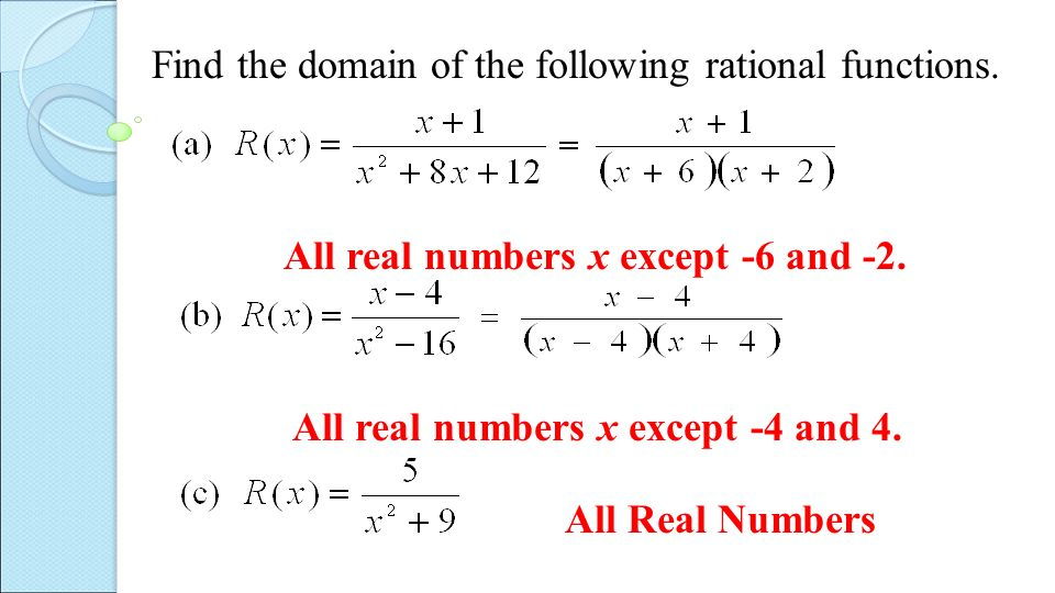 how to find the domain of a function Covers the vertical line test, along with how to know if a formula is a function even without the graph  sections: functions versus relations, domain and range.