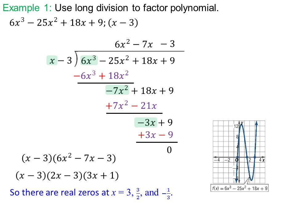 Warm up 2 ppt video online download example 1 use long division to factor polynomial ccuart Images